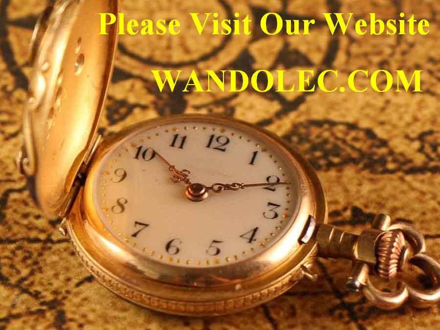 s 1902 american waltham vintage wrist gold usa